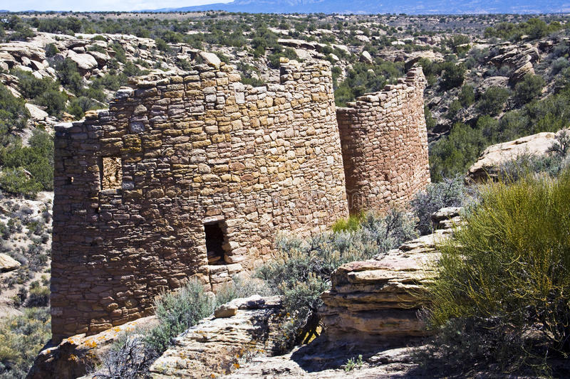 Hovenweep Nat.Monument fotos de stock royalty free