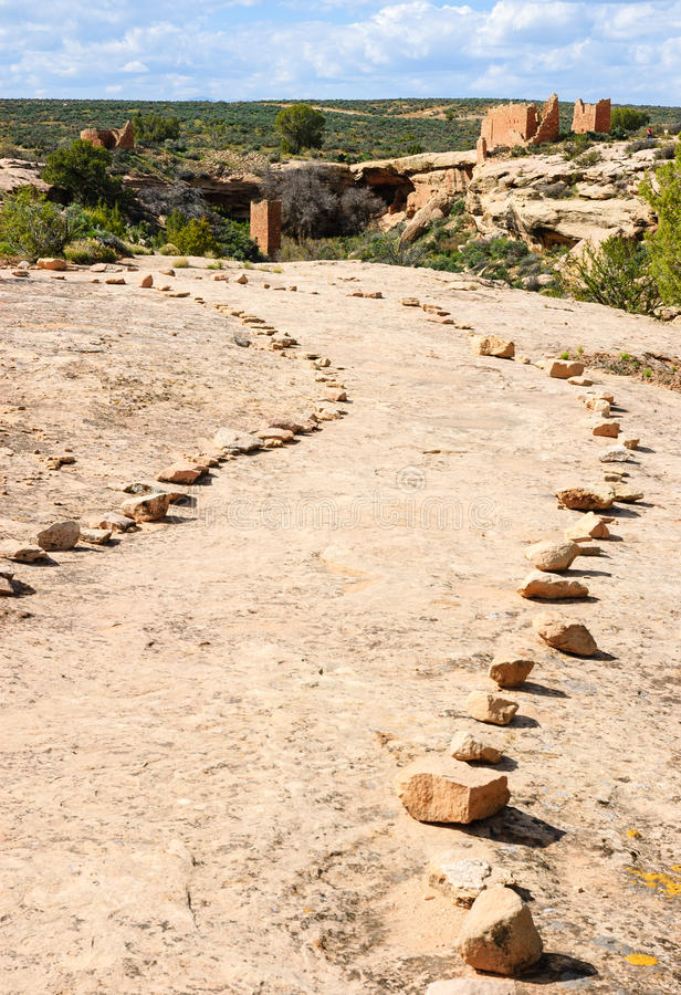 Hovenweep National Monument royalty free stock photo