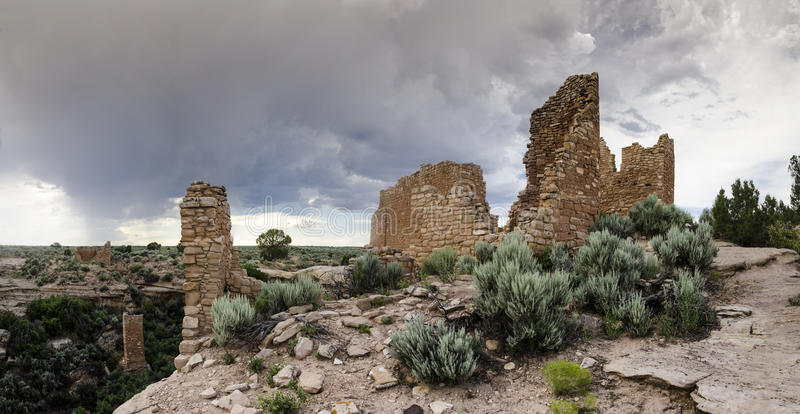 Hovenweep Ruins royalty free stock image