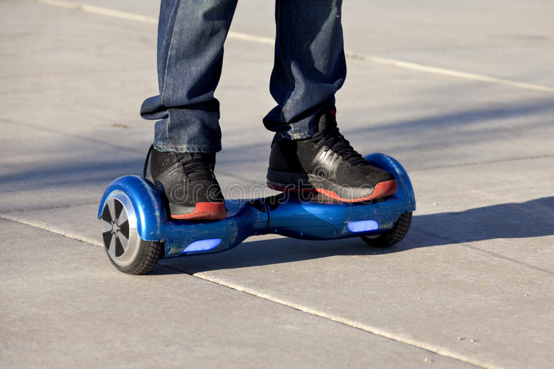 Hoverboard photo stock