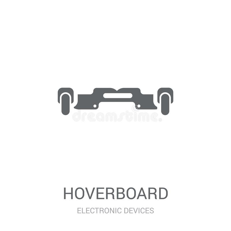 Hoverboard icon. Trendy Hoverboard logo concept on white background from Electronic Devices collection royalty free illustration
