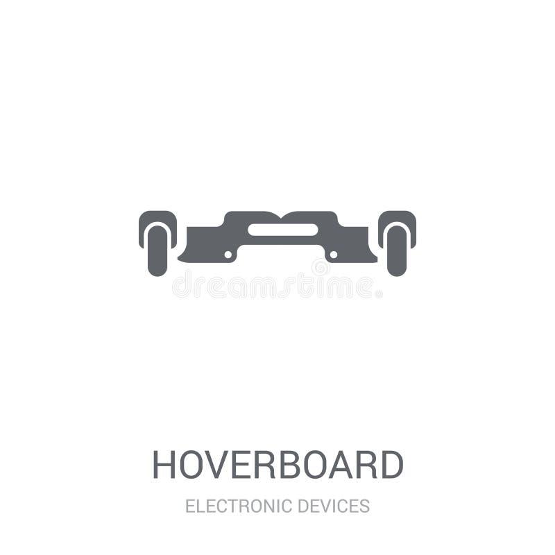 Hoverboard-Ikone  lizenzfreie abbildung