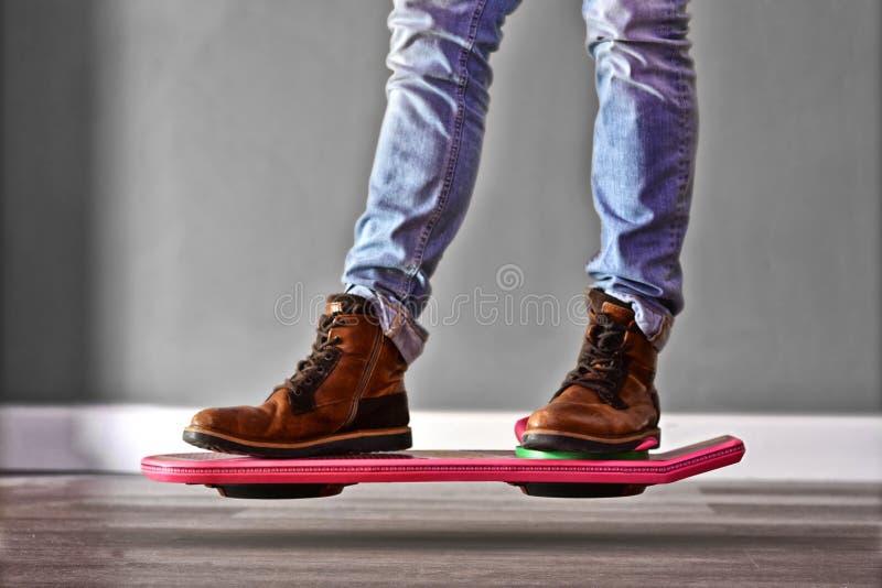 Hoverboard terug naar Toekomst 2 stock foto
