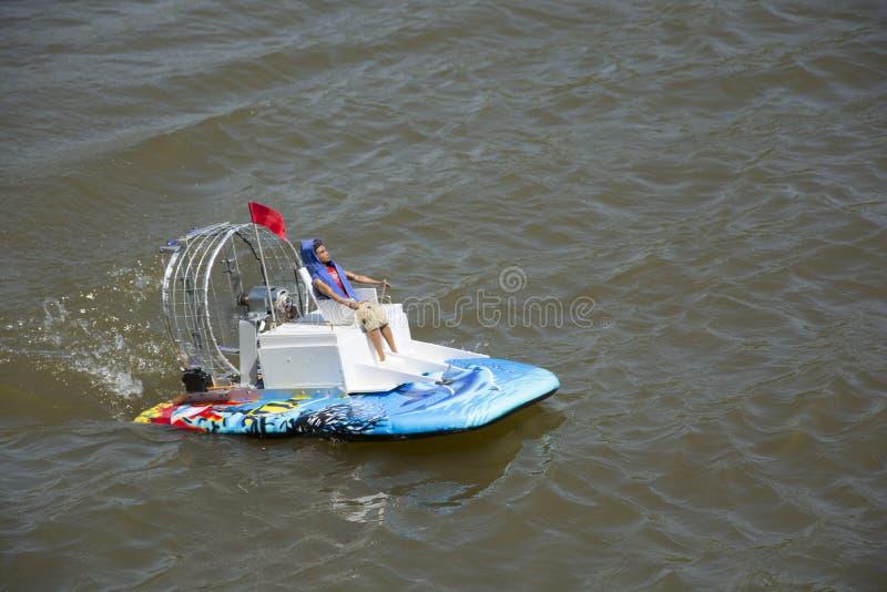 hovercraft fotografia de stock