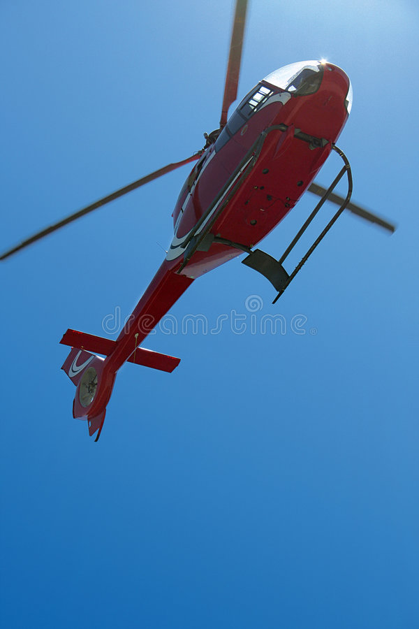 Hovering Helicopter royalty free stock images