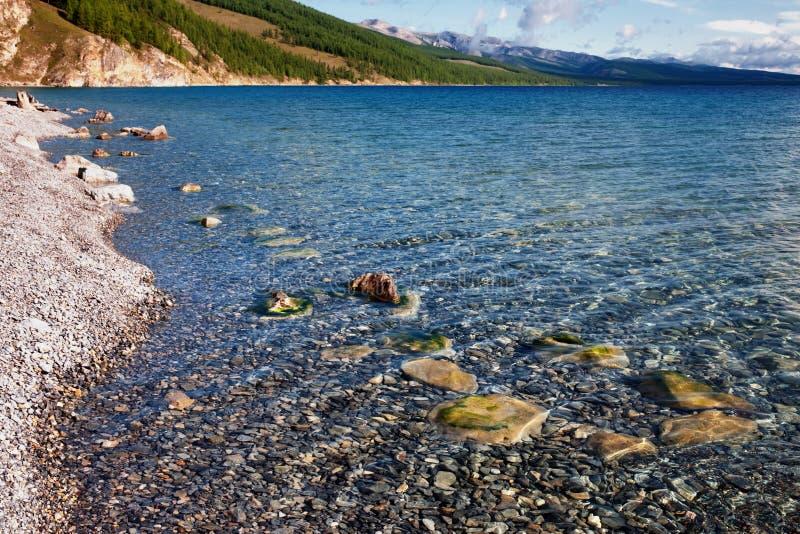 Hovsgol lake, Mongolia royalty free stock images