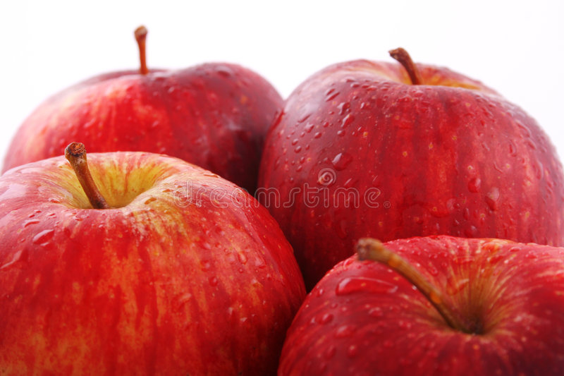 How do you like them apples? royalty free stock photos