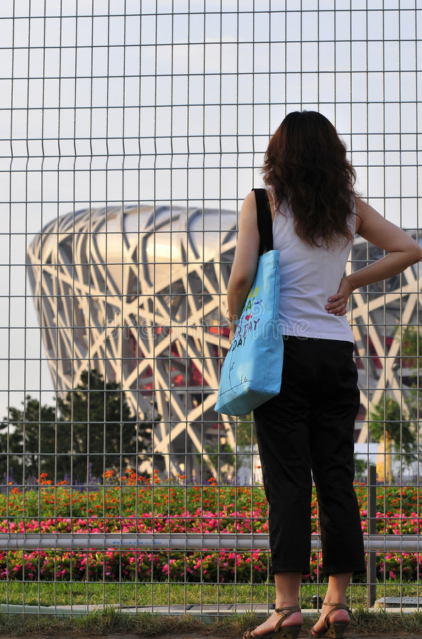 how far is the Beijing Olympic royalty free stock photos