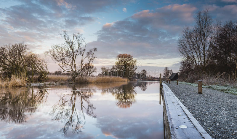 How Hill Towpath royalty free stock photography