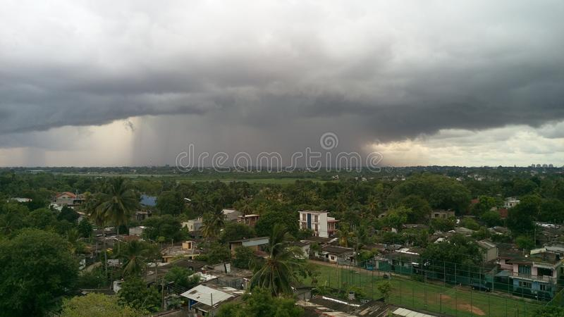 How its rain photo from top stock image