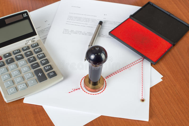 Download How Much Will The Notarial Service Cost ? Stock Photo - Image: 28510510