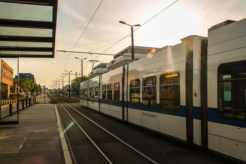 How to end a day in Zurich stock photography