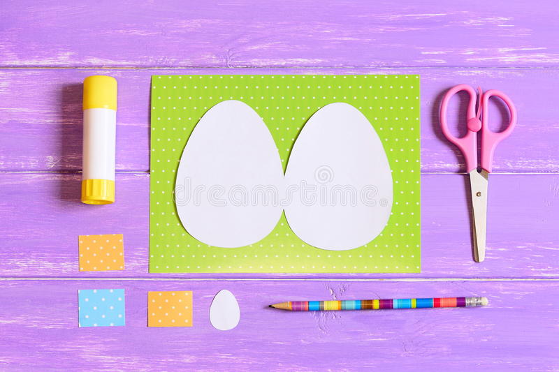 Download How To Make Easter Egg Greeting Card Step Tutorial Kids Paper