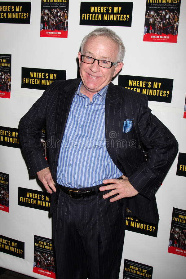 Leslie Jordan. Howard Bragman's Book Party for 'Where's My Fifteen Minutes' at the Chateau Marmont Hotel in West Los Angeles, CA on January 14, 2009 stock images