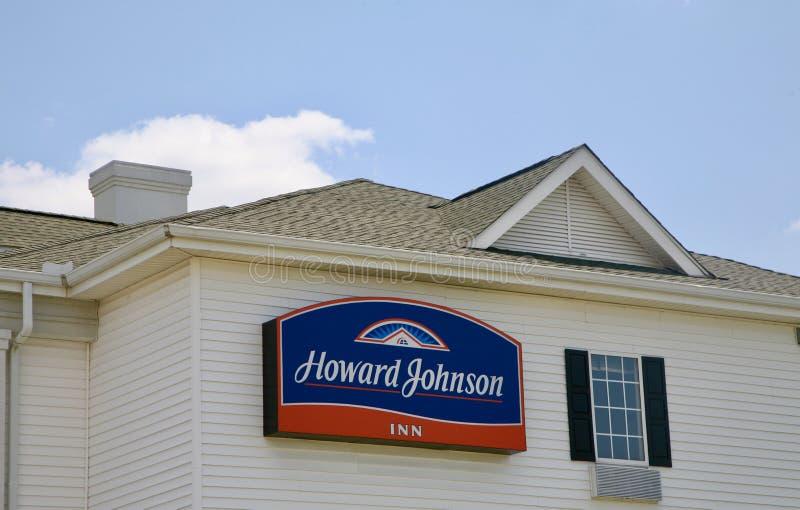 Howard Johnson Inn imagem de stock royalty free