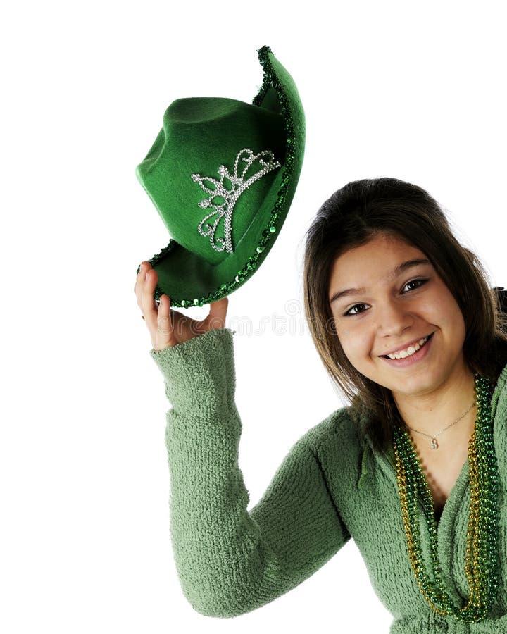 Howdy, St. Patrick's Day stock photography