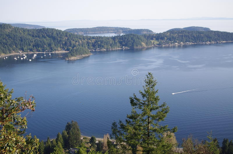 Howe sound royalty free stock image