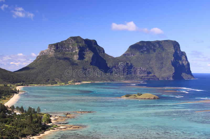 howe wyspy władyka obrazy stock