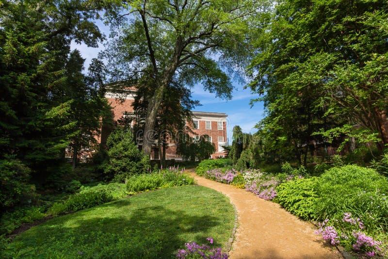 Howell Hall in UNC royalty-vrije stock fotografie