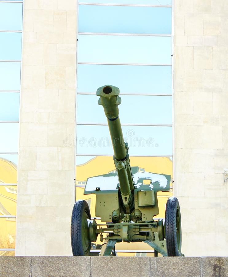 Download Howitzer stock photo. Image of world, army, heavy, dirty - 23272652