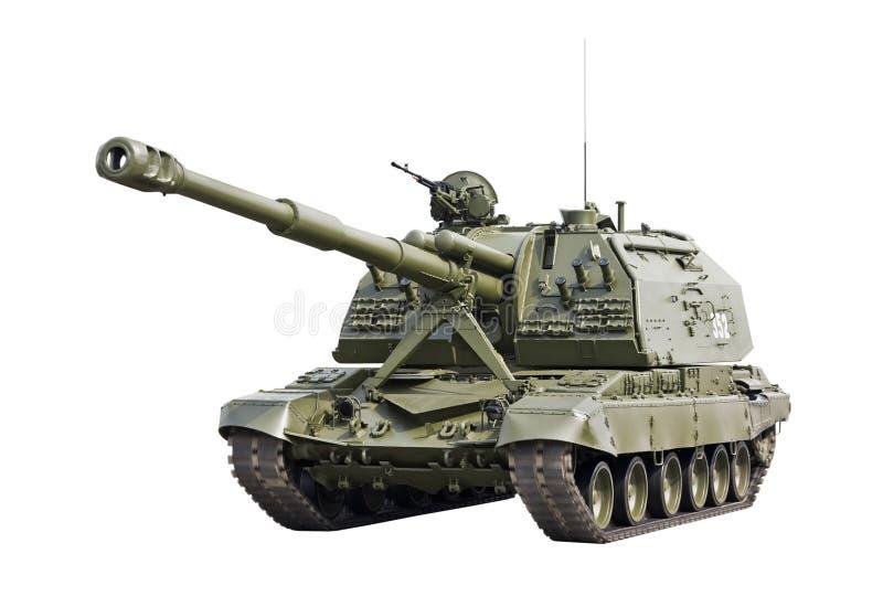 Howitzer automotor de MSTA-S 2S19 152mm imagem de stock royalty free