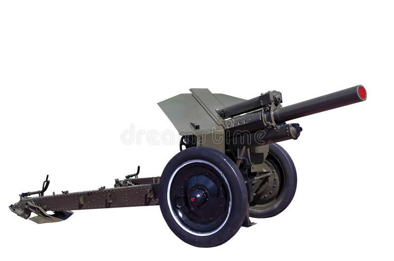 howitzer m30 σοβιετικός πολεμικό&sig στοκ εικόνα με δικαίωμα ελεύθερης χρήσης