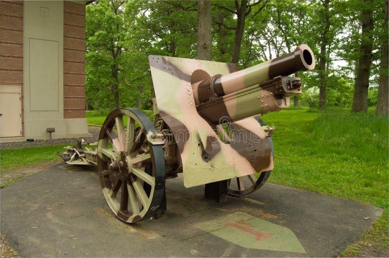Howitzer 155mm Σνάιντερ στοκ εικόνα με δικαίωμα ελεύθερης χρήσης