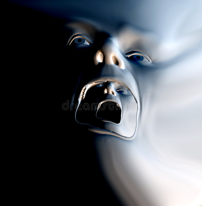 Download The Howl 12 stock illustration. Image of ghost, expression - 1398443