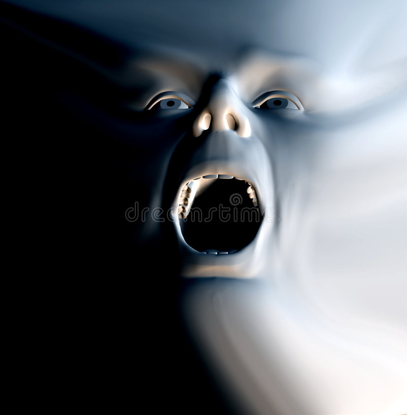 Download The Howl 9 stock illustration. Image of howl, person, eyes - 1398543