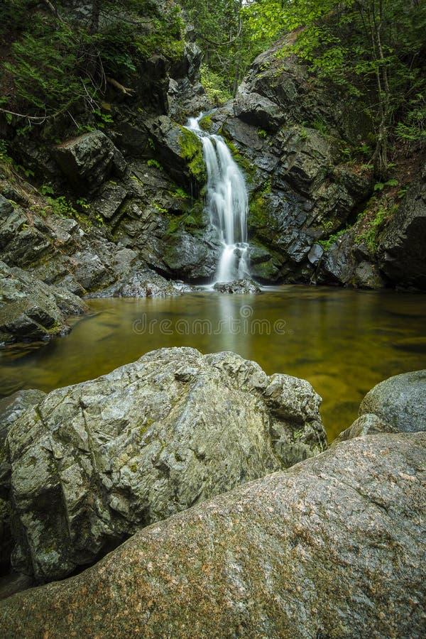 Howland Falls, Fredericton, NB royalty free stock photos