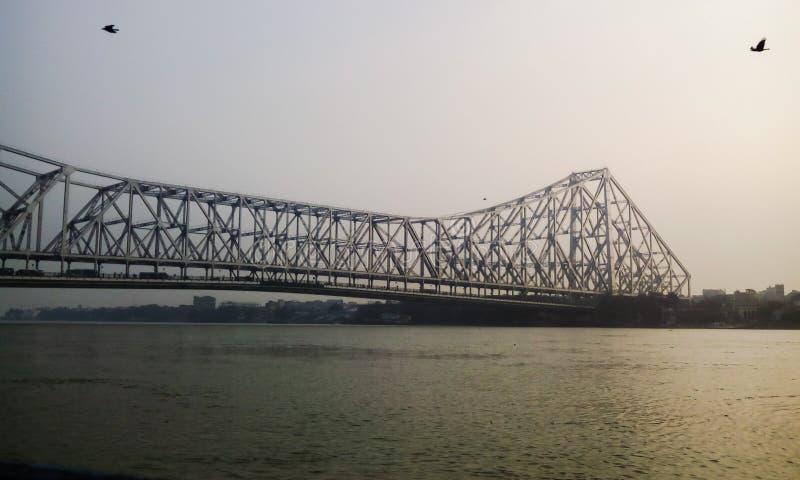Howrah-Brücke lizenzfreies stockbild