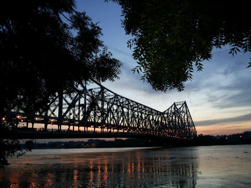 Howrah-Brücke stockfoto