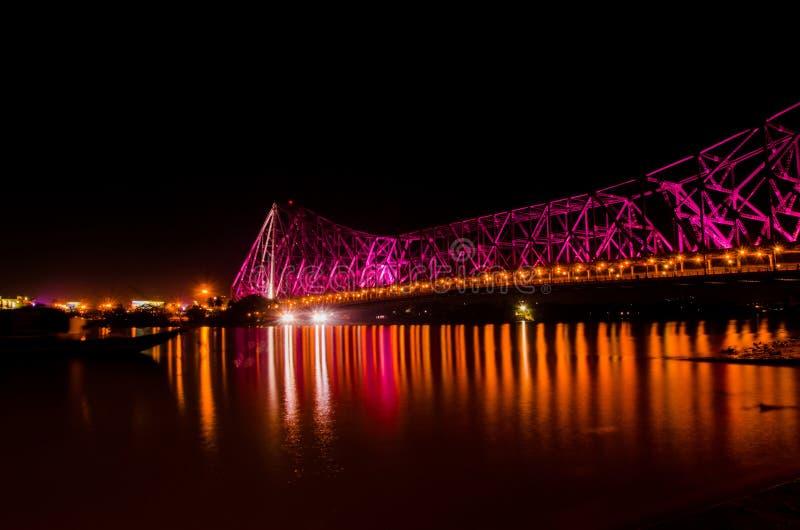 Howrah-Brücke lizenzfreie stockbilder