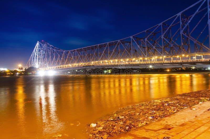 Howrah-Brücke lizenzfreie stockfotos