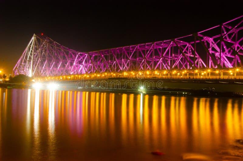 Howrah-Brücke lizenzfreies stockfoto