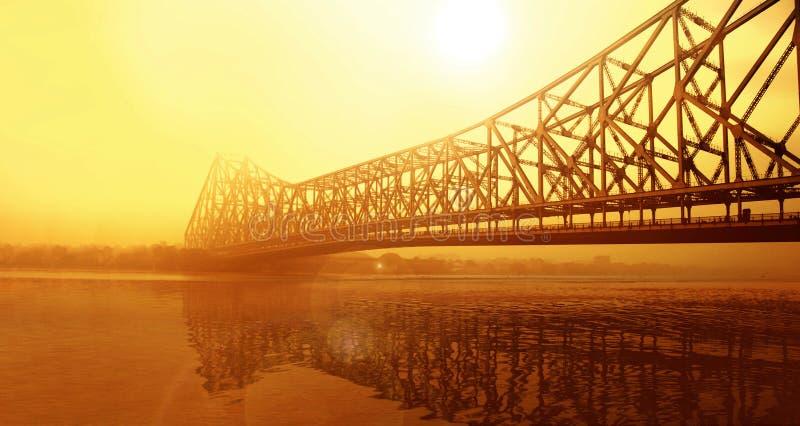 Howrah-Brücke kolkata stockfoto