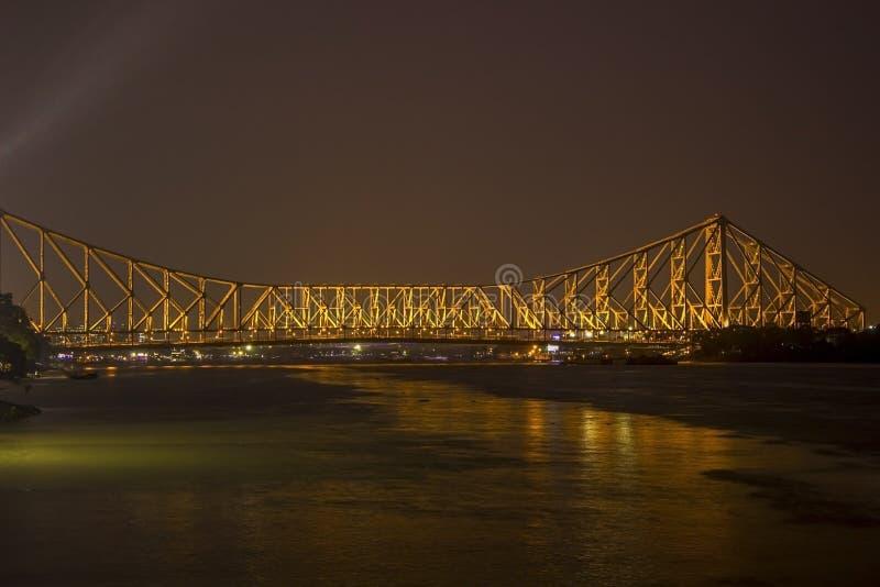 Howrah-Br?cke von Kolkata stockfoto