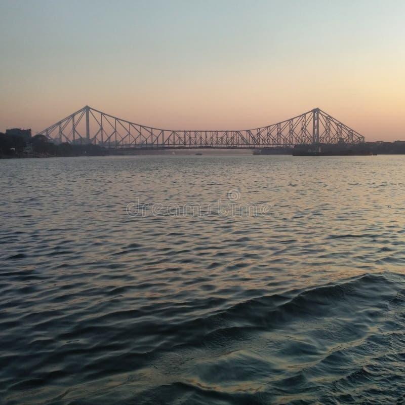 Howrah Bridge / Rabindra Setu stock images