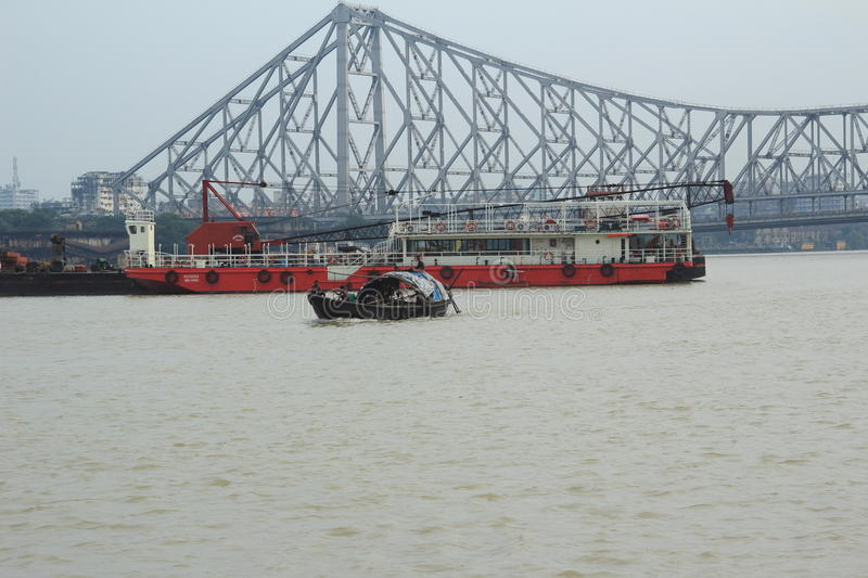 Download Howrah Bridge. editorial photography. Image of calcutta - 34242327