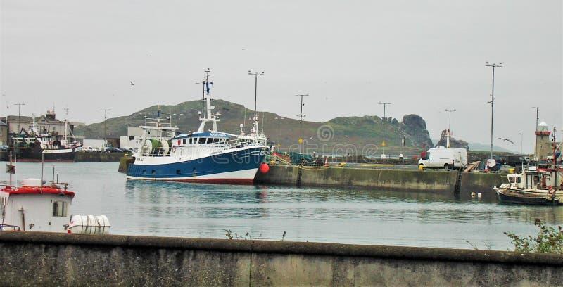 Howth,爱尔兰港口  免版税库存图片