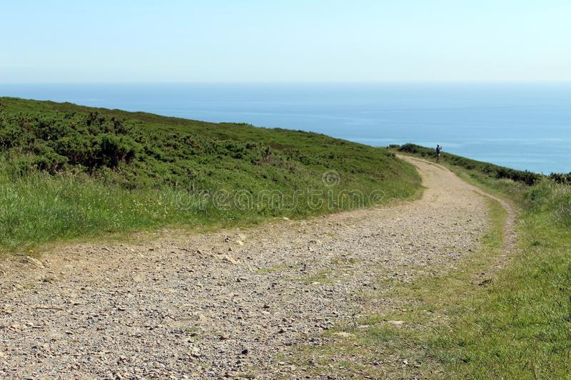 Howth Cliff Path photo libre de droits