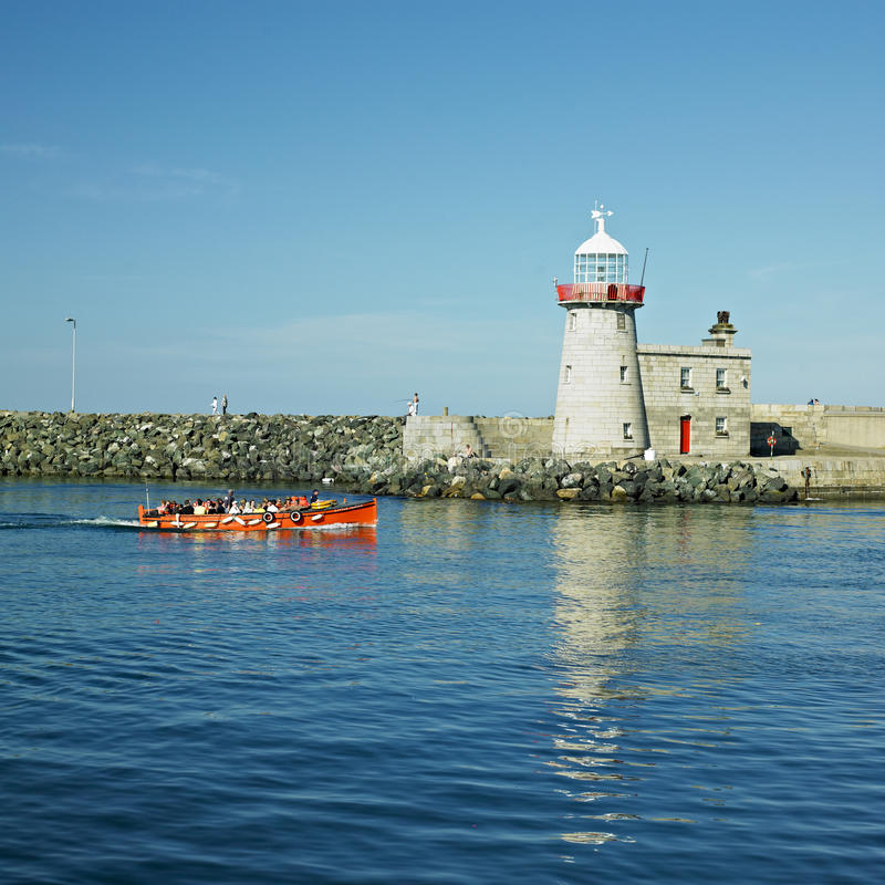 Howth, Ierland stock foto's