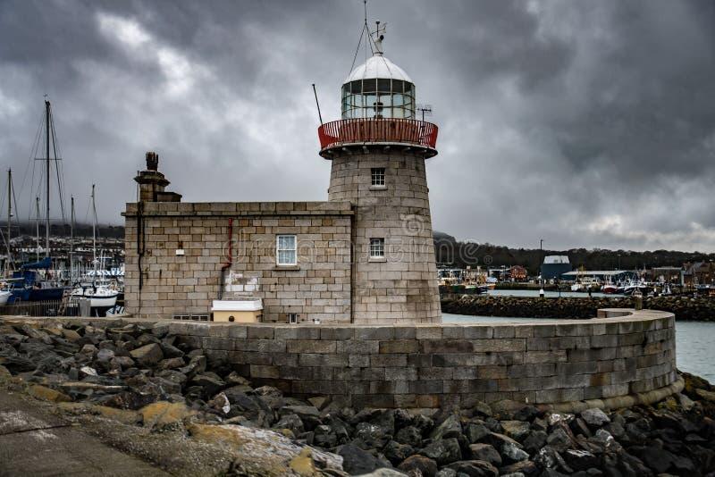 Howth latarnia morska Dublin Irlandia obrazy stock