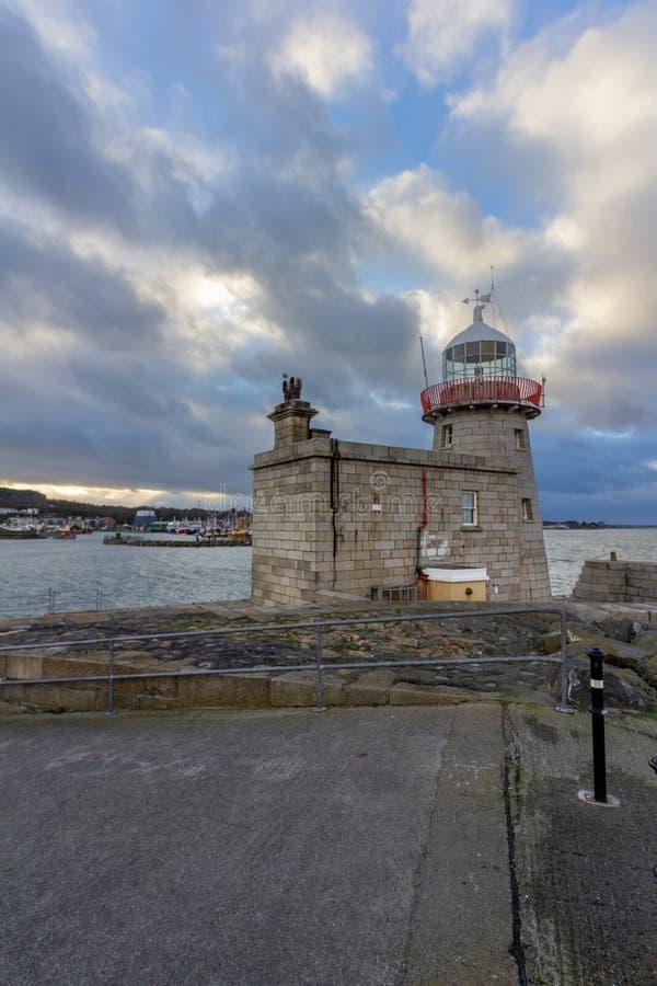 Howth latarnia morska w Irlandia fotografia stock