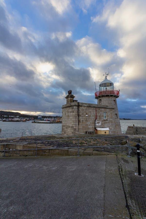 Howth latarnia morska w Irlandia obrazy stock