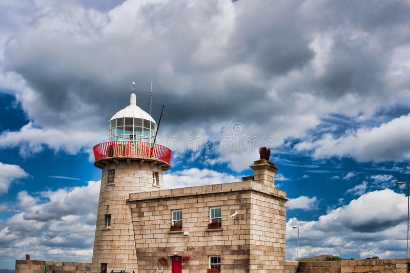 Download Howth Lighthouse stock photo. Image of navigation, dusk - 11618546