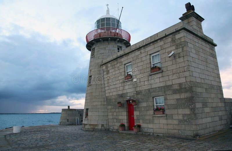 Howth Lighthouse in Dublin royalty free stock photos