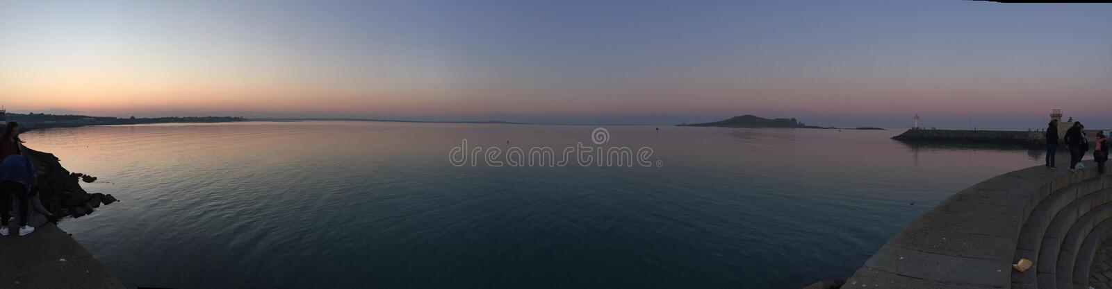 Howth panorama obrazy royalty free