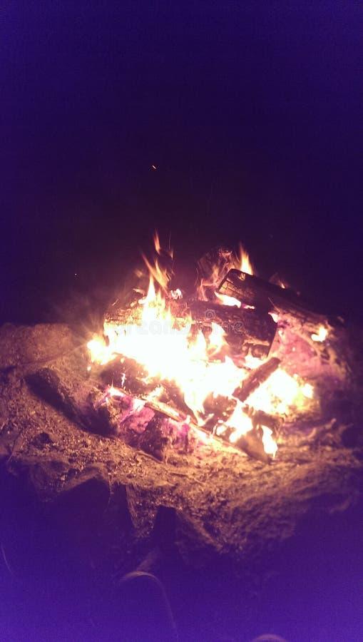 Hoyo del fuego imágenes de archivo libres de regalías