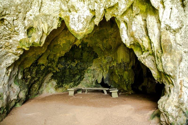 Hoyop Hoyoan Cave, Camalig, Albay.  royalty free stock photography